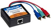 Muxlab 500050 Component Video/Digital Audio Balun, Male