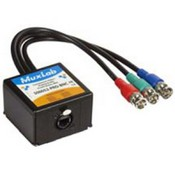 Muxlab 500052PROBNC Component Video/Analog Audio Proav Balun