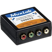 Muxlab 500053 Component Video/Analog Audio Balun (Transmitter)