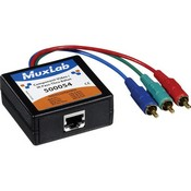 Muxlab 500054 Component Video/IR Pass-Thru Balun (Male)
