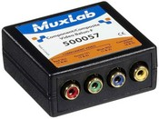 Muxlab 500057 Component-Composite Video Balun (Female)