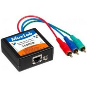 Muxlab 5000582PK Component Video/Stereo Audio Balun, MuxLab