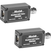 Muxlab 5003062PK Shielded Catv Balun, 2-Pack
