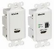 Muxlab 500401-WP-US HDMI Econo Plus Wall Plate Extender Kit,