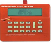 Napco CF3000LCDe Red Fire/Burglar/Access Control LCD Backlit Custom Alphanumeric Scroll Fire Marshall Keypad