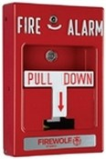 Napco FWCFSLCPULL Addressable SLC Fire Pull Station