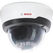 Bosch NDC-225-PI D/N IP Dome Camera w/4GB Micro SD Card, 4mm Lens, PoE