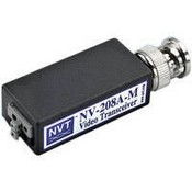 NVT NV-208A-M Single Channel Passive Video Transceiver (with male BNC connector)