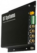 OT System FT410DB-SMR-SA Digital Fiber Optic Receiver, 4-Channel Video, 1-Channel Data, Modul, Multimode