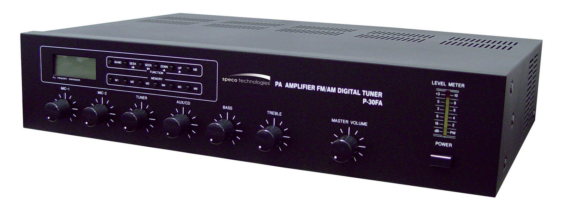 Speco P 30fa 30w Pa Amplifier With Digital Am Fm Tuner