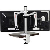 Peerless LCT-A1B4C Universal Two-link Dual Articulating Desk Clamp