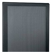 Middle Atlantic PFD-12 Plexi Front Door (Black)
