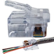 Platinum Tools 100026 EZ-RJ12/11 Modular Connectors