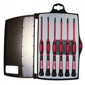 Platinum Tools 19110, 1 KV Insulated Precision Screwdriver Set, 6 pc