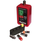 Platinum Tools T104C 4mapper™ Coax Tester with 4 custom F remotes, remote holster & 1 F (F to F) adapter