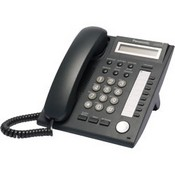 Panasonic Telephone KX-DT321-B  8 Button 1-Line Backlit LCD Display Digital Telephone, Color Black