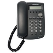Panasonic Telephone KX-HGT100B SIP Phone With 2 Line Monochrome Lcd Display, 2nd Lan Port, Compatible With Tde And Ncp Systems