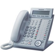 Panasonic Telephone KX-NT343 Expandable IP Telephone with 24 Buttons and 3-Line Backlit LCD