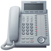 Panasonic Telephone KX-NT346 Expandable IP Telephone with 6-Line Backlit LCD, White