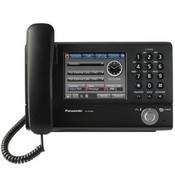 Panasonic Telephone KX-NT400 IP Telephone Color, Touchscreen LCD (Black)