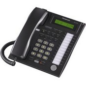 Panasonic Telephone KX-T7731-B 24-Button Speakerphone Telephone, Black