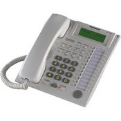 Panasonic Telephone KX-T7736 3-Line LCD Phone designed to work with the KX-TA824 Advanced Hybrid System