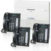 Panasonic Telephone KX-TA824PK 3 X 8 Analog PBX Main Unit with 3 Panasonic KX-T7731