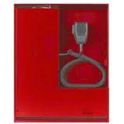 Potter EVAX-50R-4Z 4 Zone Voice Evacuation System Red