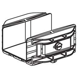 panduit fbc2x2or coupler 2 x 2 50mm x 50mm fiberrunner or Trailer Locks 4 off