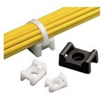 Panduit TM3S10-M Cable Tie Mount, Indoor, up to light-heavy cable ties, .86