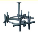 Premier Mounts ECM3763T Triple Ceiling Mount For Flat-Panels
