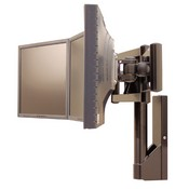 Premier Mounts MMW Wall Mount Option for MMT Triple Flat Panel Monitor Mount