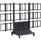 Premier Mounts MVWC3X3 3X3 Mobile Video Wall Cart
