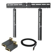 Premier Mounts WTFM3765 Ultra Thin Wall Mount HDMI Kit for 37-68 inch Screens