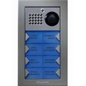 Comelit PV8F, Powercom Video Flush Mount 8 Push Button Entry Panel Kit