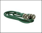 Revere Industries RBNC-G3 Green 3' Cable BNC to BNC Plugs