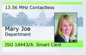 Rosslare Security AT-T511 13.56 MHz Mifare® Contactless Ultralight Card