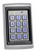 Rosslare Security AYC-Q64B Anti-Vandal US Single Gang Backlit PROX + PIN Reader – Convertible