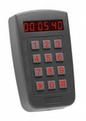 Rosslare Security AY-F66 Outdoor PIN & Proximity Reader with Time/Date LED Display