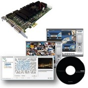NUUO SCB-7004 4 Channel DVR Card, 120 FPS, D1 Resolution