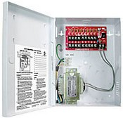 Seco Larm EVP-1SA4P9UL 9 Outputs, 24VAC, 1.1Amps / Output, 4Amps Max Total CCTV DC Power Supply - UL Listed