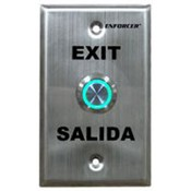 Seco Larm SD-7275SGEX1Q Push To Exit Plate