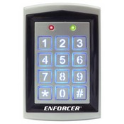 Seco Larm SK-1323-SPQ Adds Built-In Proximity Card Reader Weatherproof Stand-Alone Access Control Keypad
