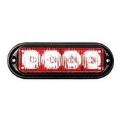 Seco Larm SL-1311-MA-R High Intensity 1W 4 LED Module, Red