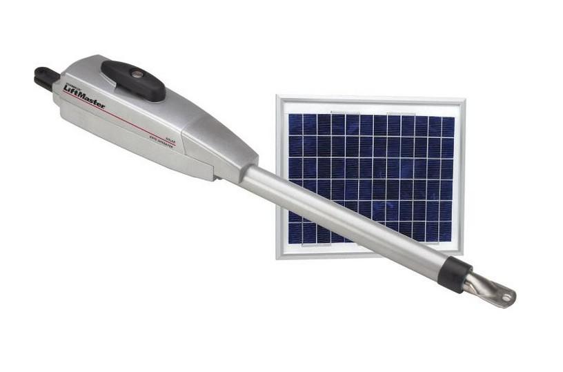 Chamberlain la solar powered gate operator second arm