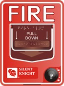 Honeywell Fire Systems SK-PULL-SA-DA System Sensor Addressable Pull Stations
