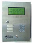 Select Engineered Systems T4HF50 Telephone Access 4 Line Display