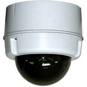 Videolarm SM5C8NE Compact Outdoor Surface Mount Dome For POE Plus Enabled IP Ptz Cameras, No Midspan