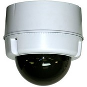 Videolarm SM5C8N Compact Outdoor Surface Mount Dome for POE Plus Enabled IP PTZ Cameras