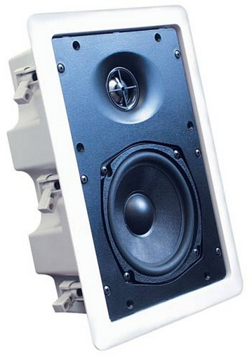 Speco Sp 625bb 6 5 Quot In Wall Speaker With Back Box Pair